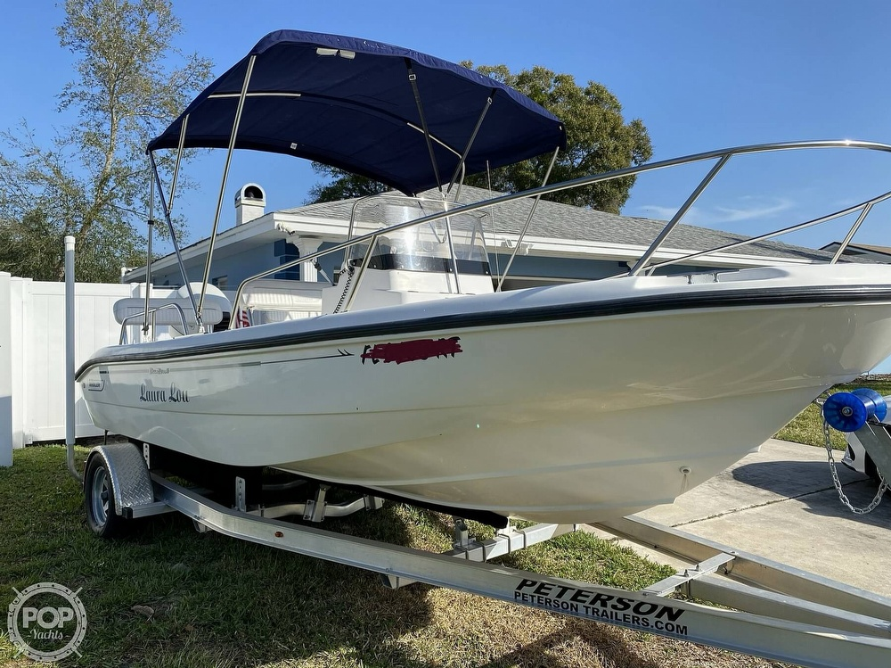 2000 Boston Whaler boat for sale, model of the boat is 18 Dauntless & Image # 2 of 40