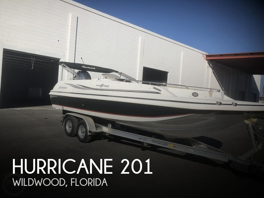 2015 Hurricane boat for sale, model of the boat is 201 Sun Deck Sport & Image # 1 of 41