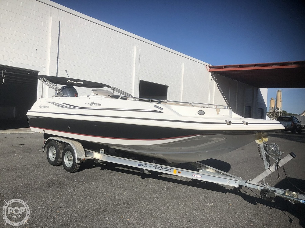 2015 Hurricane boat for sale, model of the boat is 201 Sun Deck Sport & Image # 9 of 41