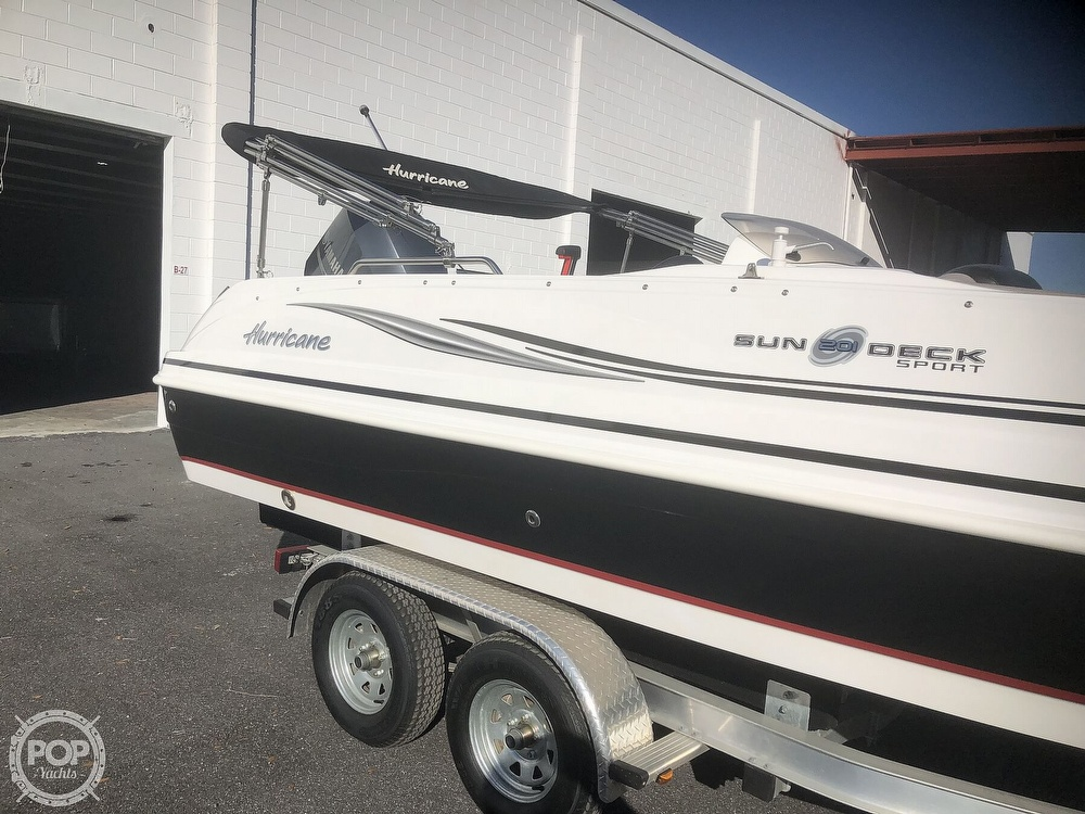 2015 Hurricane boat for sale, model of the boat is 201 Sun Deck Sport & Image # 10 of 41