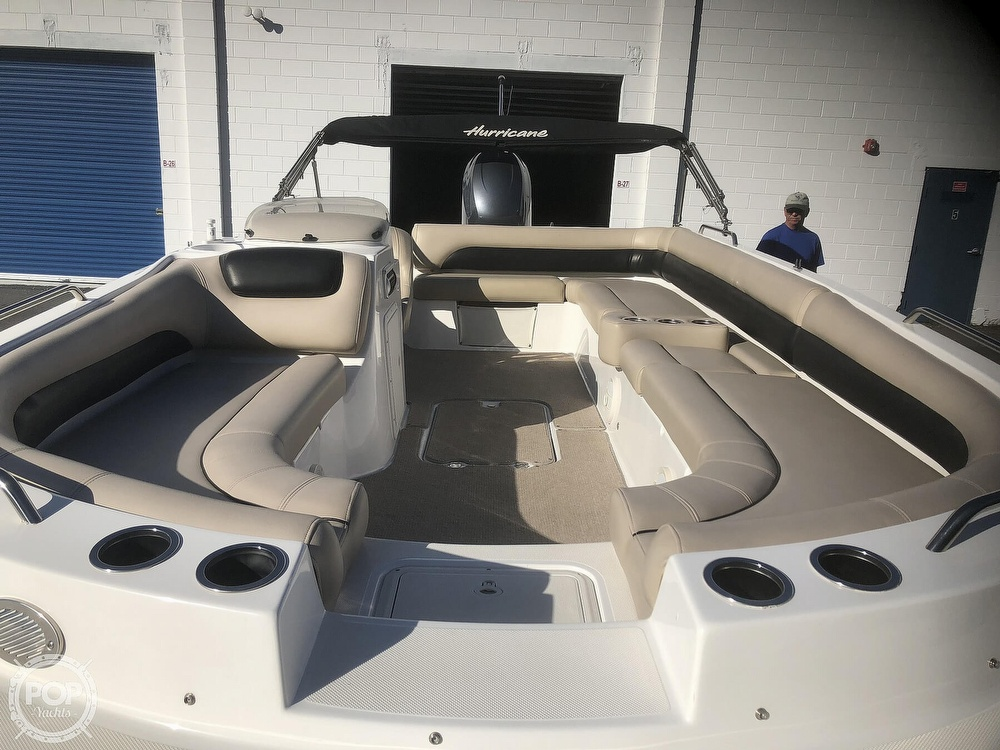 2015 Hurricane boat for sale, model of the boat is 201 Sun Deck Sport & Image # 24 of 41