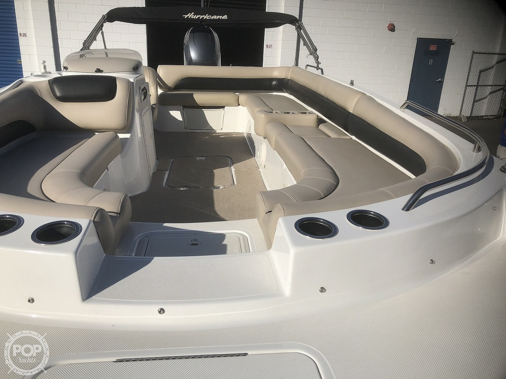 2015 Hurricane boat for sale, model of the boat is 201 Sun Deck Sport & Image # 26 of 41