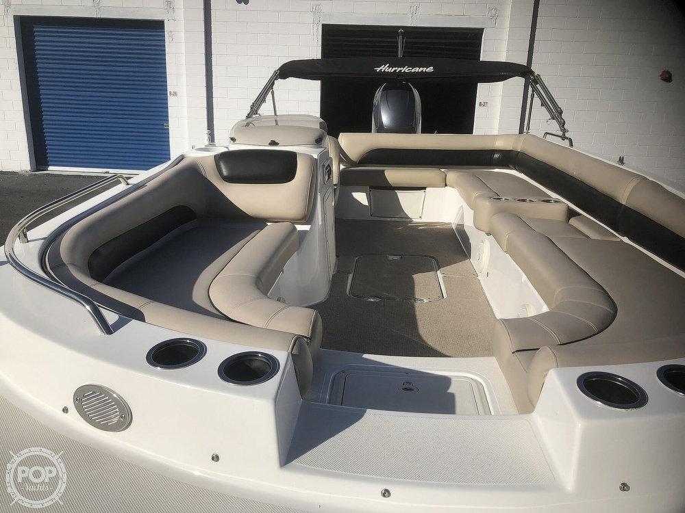 2015 Hurricane boat for sale, model of the boat is 201 Sun Deck Sport & Image # 27 of 41
