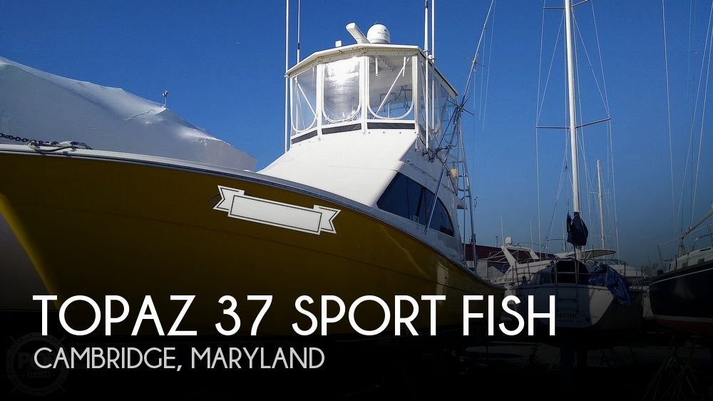 Used Topaz Boats For Sale by owner | 1991 Topaz 37 Sport Fish