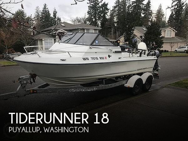Used Boats For Sale by owner   1998 Tiderunner 18