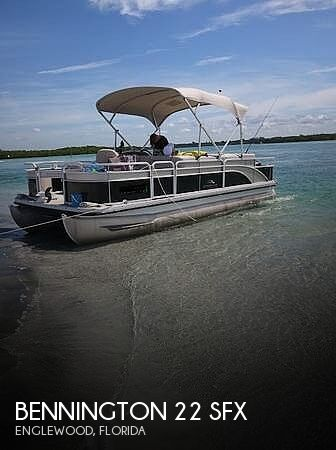 Used Bennington Pontoon Boats For Sale in Florida by owner | 2014 Bennington 24