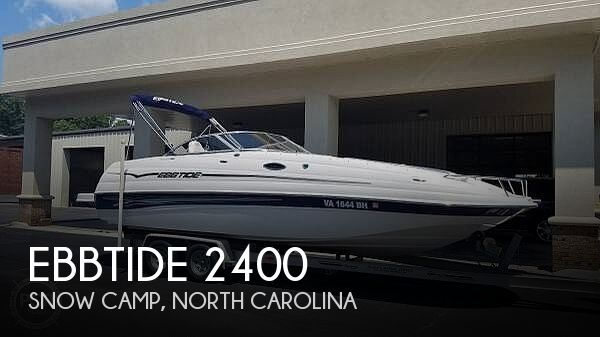 Used Deck Boats For Sale in North Carolina by owner | 2006 Ebbtide 2400