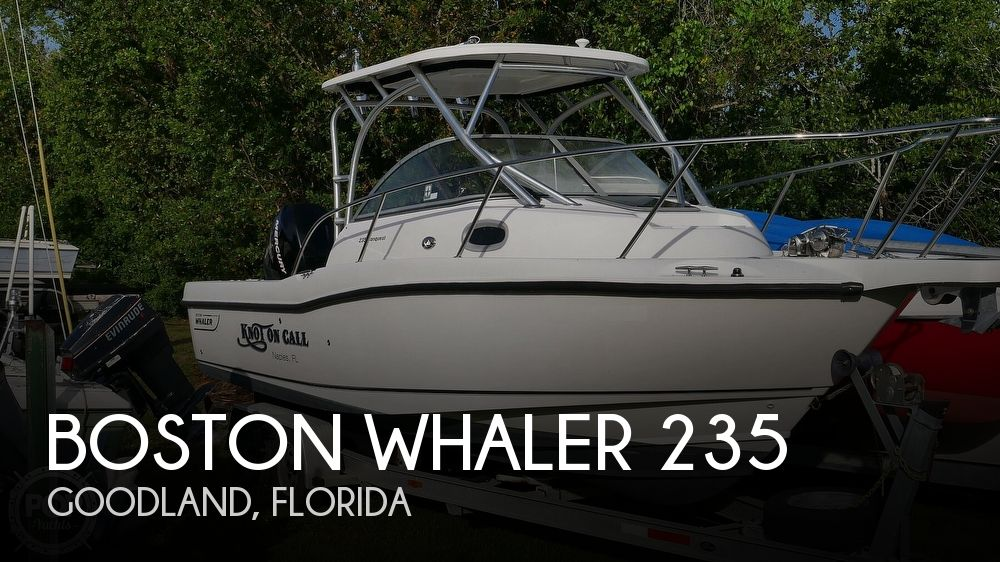 2006 Boston Whaler boat for sale, model of the boat is 235 Conquest & Image # 1 of 40