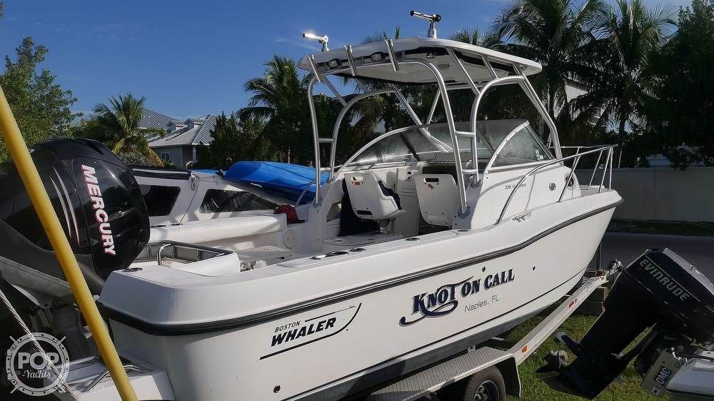 2006 Boston Whaler boat for sale, model of the boat is 235 Conquest & Image # 2 of 40