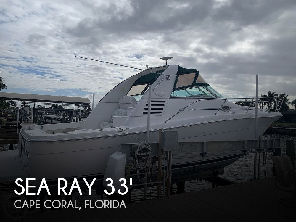 Used Sea Ray 33' Boats For Sale by owner | 1997 Sea Ray 33'