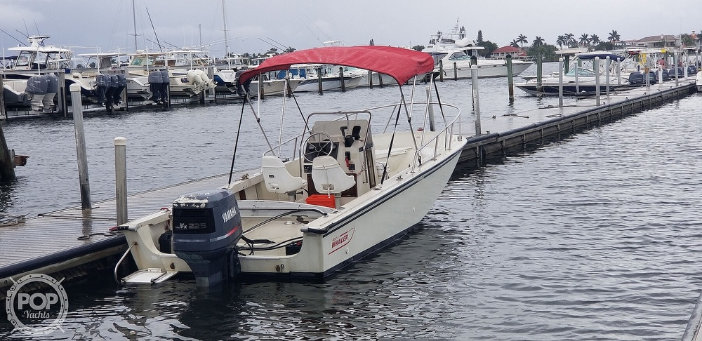 1989 Boston Whaler boat for sale, model of the boat is 22 Outrage & Image # 10 of 40