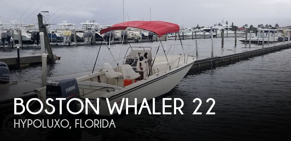 1989 Boston Whaler boat for sale, model of the boat is 22 Outrage & Image # 1 of 40