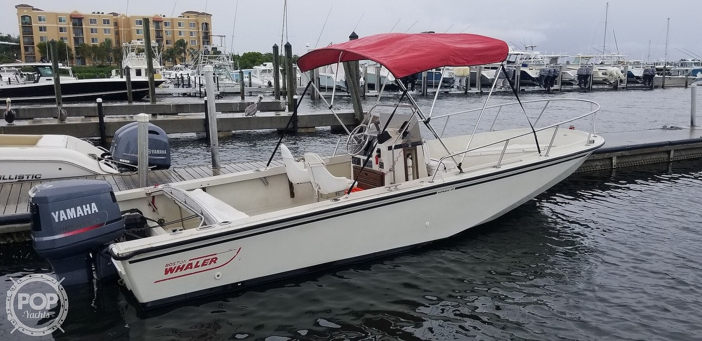 1989 Boston Whaler boat for sale, model of the boat is 22 Outrage & Image # 11 of 40