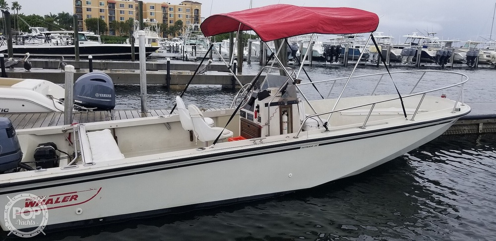 1989 Boston Whaler boat for sale, model of the boat is 22 Outrage & Image # 12 of 40