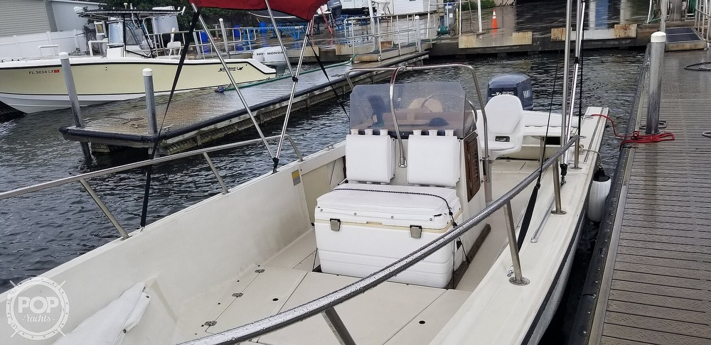 1989 Boston Whaler boat for sale, model of the boat is 22 Outrage & Image # 18 of 40