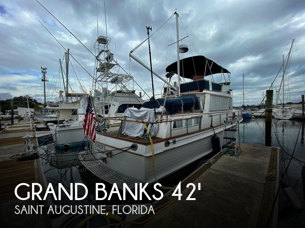 Used GRAND BANKS Boats For Sale by owner | 1980 Grand Banks 42 classic trawler
