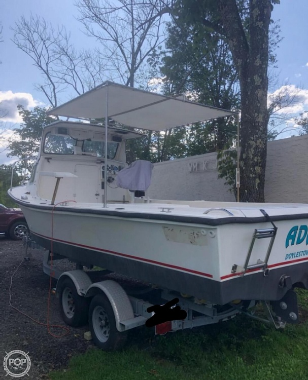 1984 Kencraft boat for sale, model of the boat is 25 & Image # 4 of 34