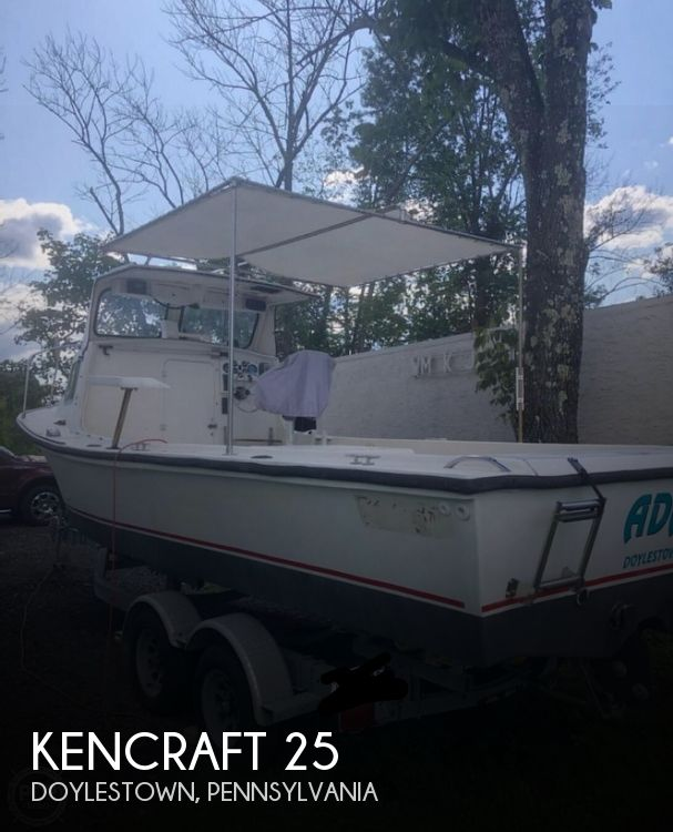 Used Kencraft Boats For Sale by owner | 1984 Kencraft 25