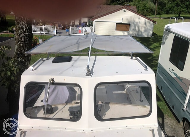 1984 Kencraft boat for sale, model of the boat is 25 & Image # 7 of 34