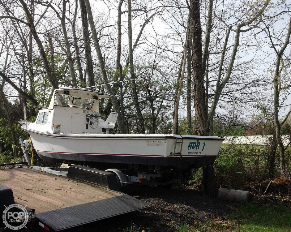 1984 Kencraft boat for sale, model of the boat is 25 & Image # 2 of 34