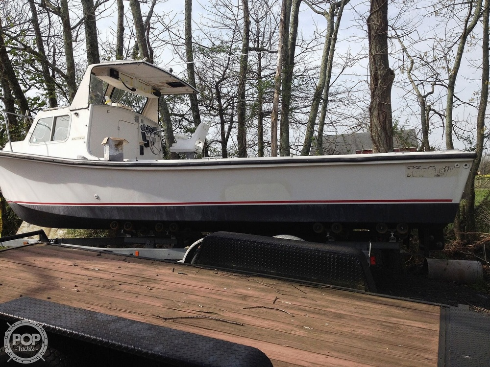 1984 Kencraft boat for sale, model of the boat is 25 & Image # 3 of 34