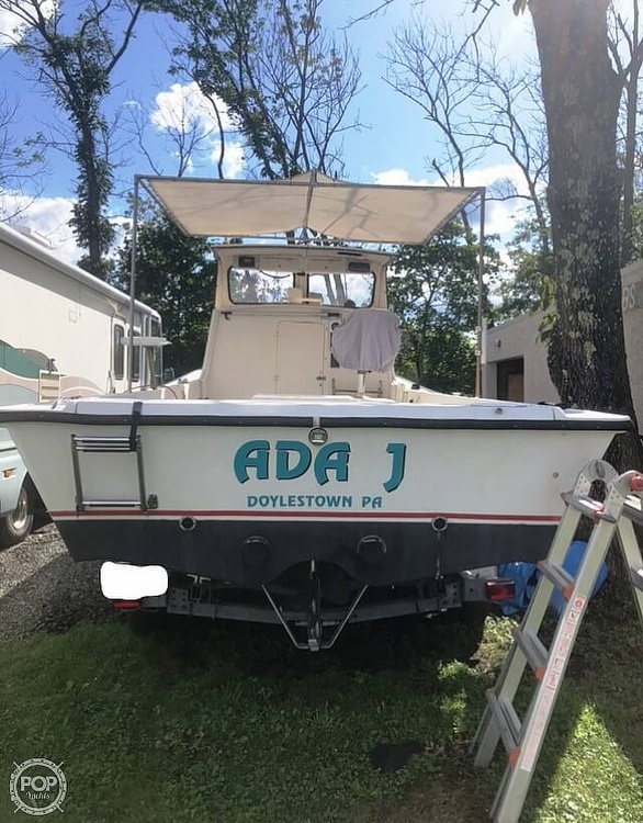 1984 Kencraft boat for sale, model of the boat is 25 & Image # 10 of 34