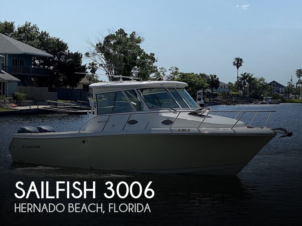 Used Sailfish Boats For Sale by owner | 2009 Sailfish 3006