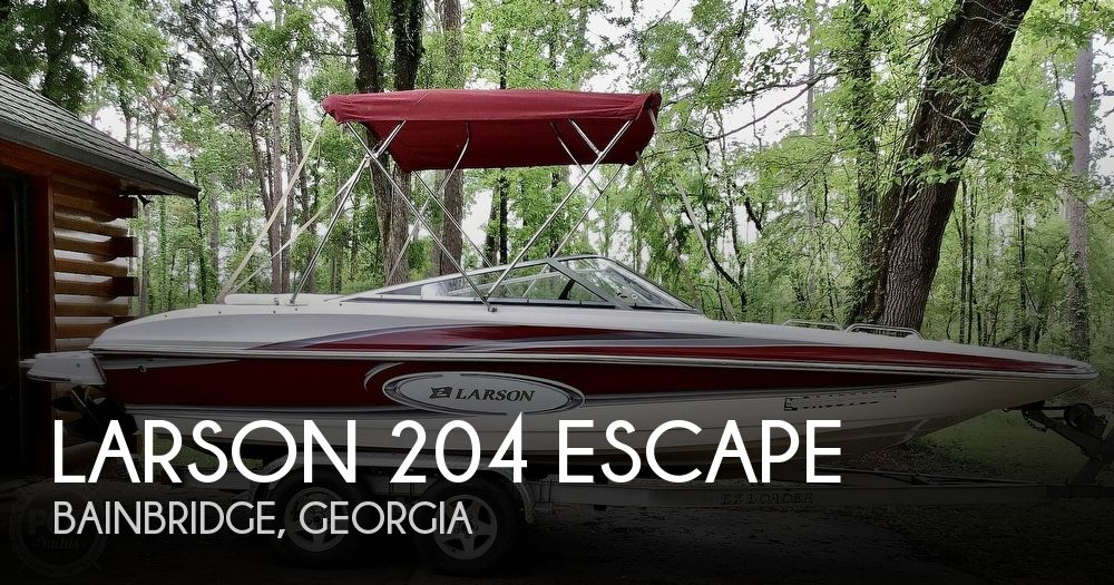 2009 Larson boat for sale, model of the boat is 204 Escape & Image # 1 of 40