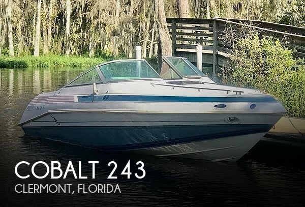 1989 Cobalt boat for sale, model of the boat is 243 & Image # 1 of 40