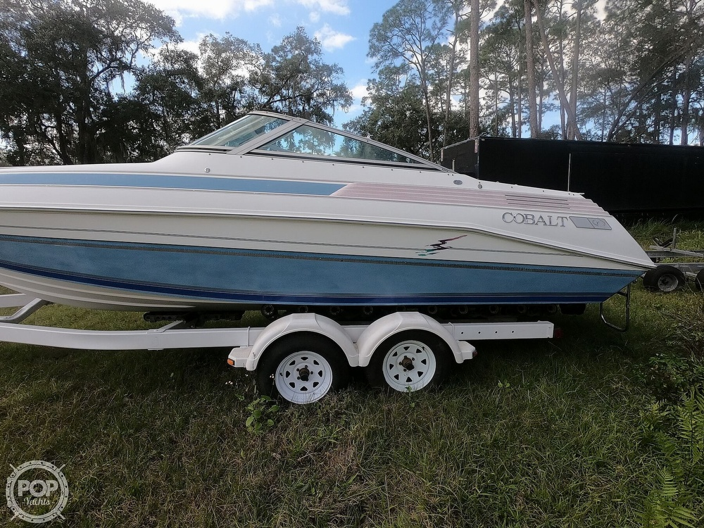 1989 Cobalt boat for sale, model of the boat is 243 & Image # 31 of 40