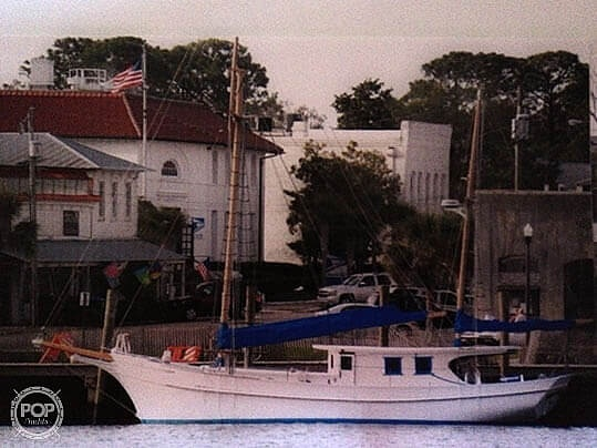 1997 Corsair Custom boat for sale, model of the boat is 48 & Image # 3 of 40