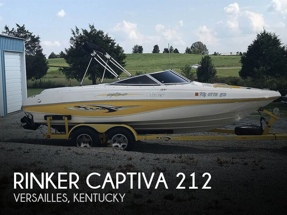 Used Rinker 21 Boats For Sale by owner | 2003 Rinker Captiva 212