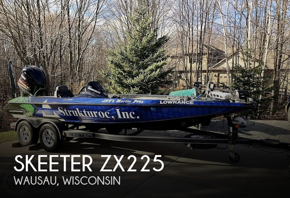 2018 Skeeter boat for sale, model of the boat is ZX225 & Image # 1 of 12