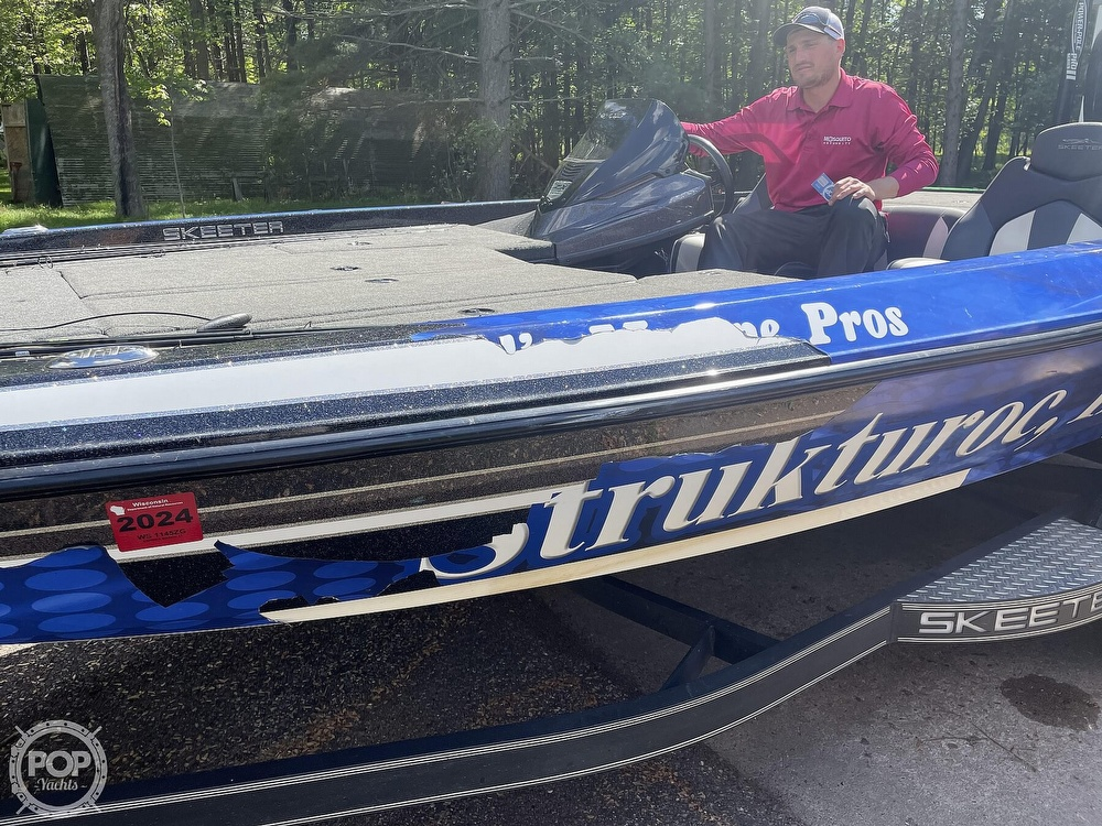 2018 Skeeter boat for sale, model of the boat is ZX225 & Image # 17 of 40