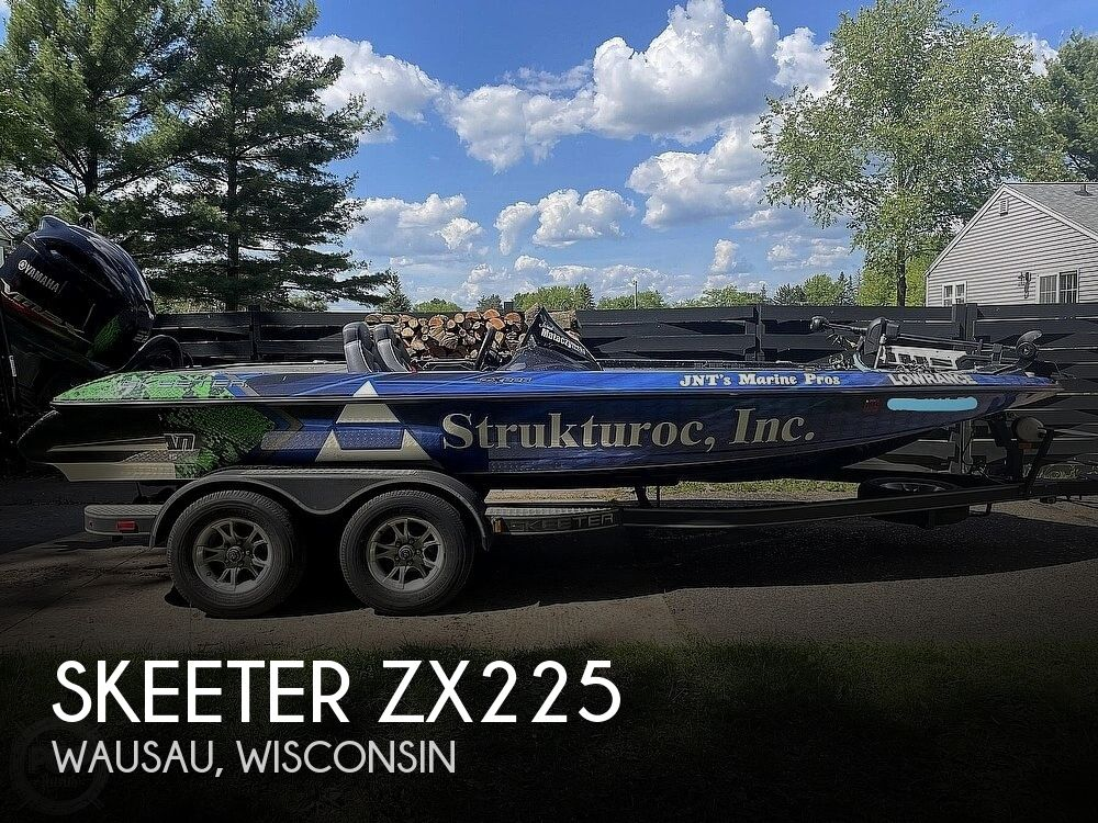 2018 Skeeter boat for sale, model of the boat is ZX225 & Image # 1 of 40