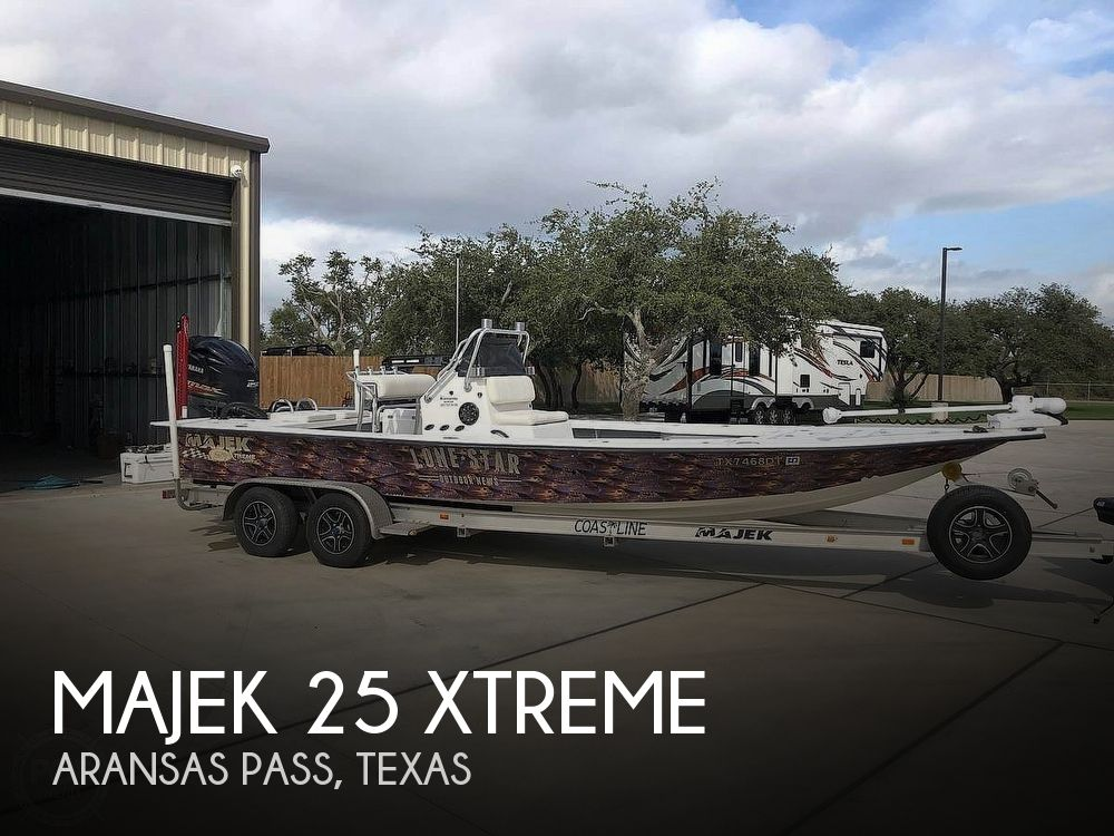 Used Boats For Sale in Corpus Christi, Texas by owner | 2017 Majek 25 Xtreme