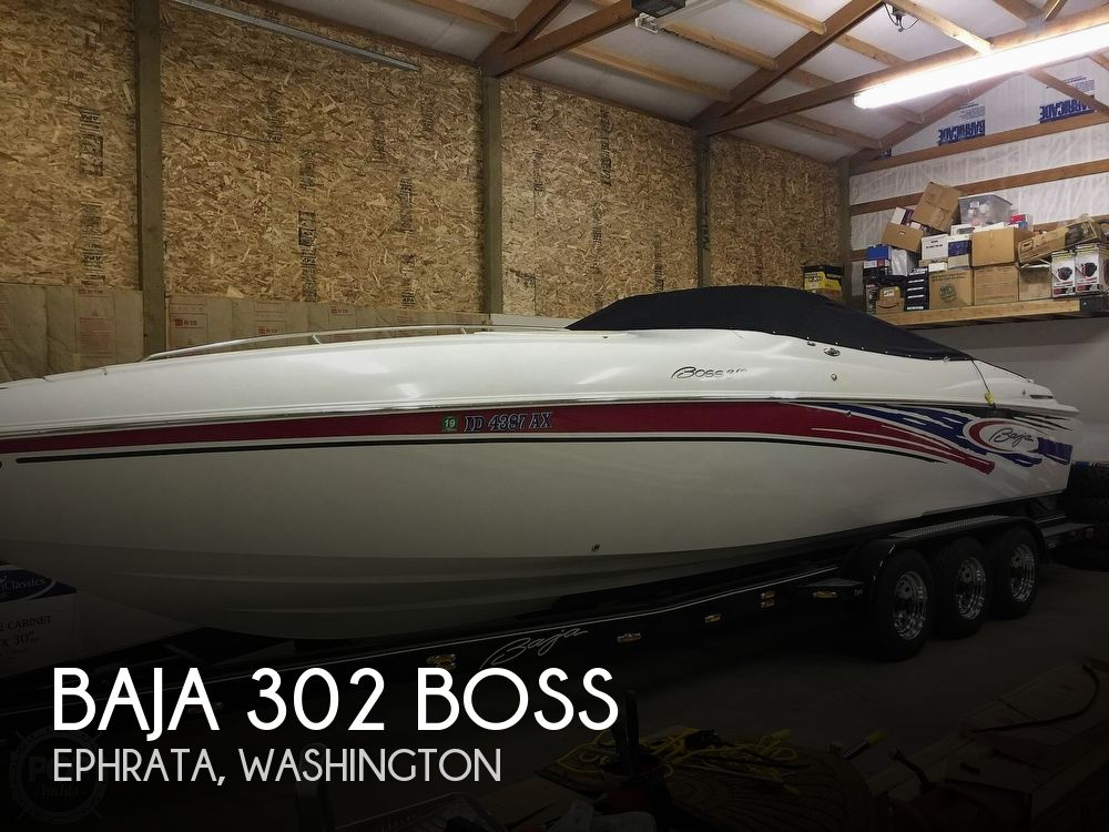 Used Baja Boats For Sale by owner | 2005 Baja 302 Boss