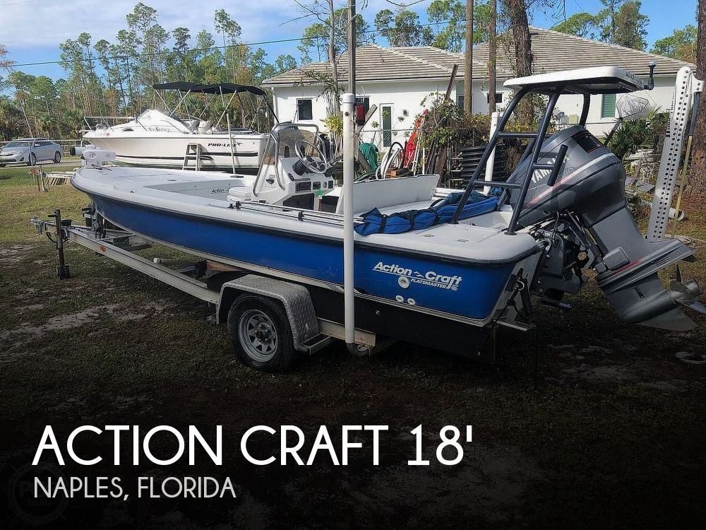 Used Action Craft Boats For Sale by owner | 1998 Action Craft 1820 Flatsmaster