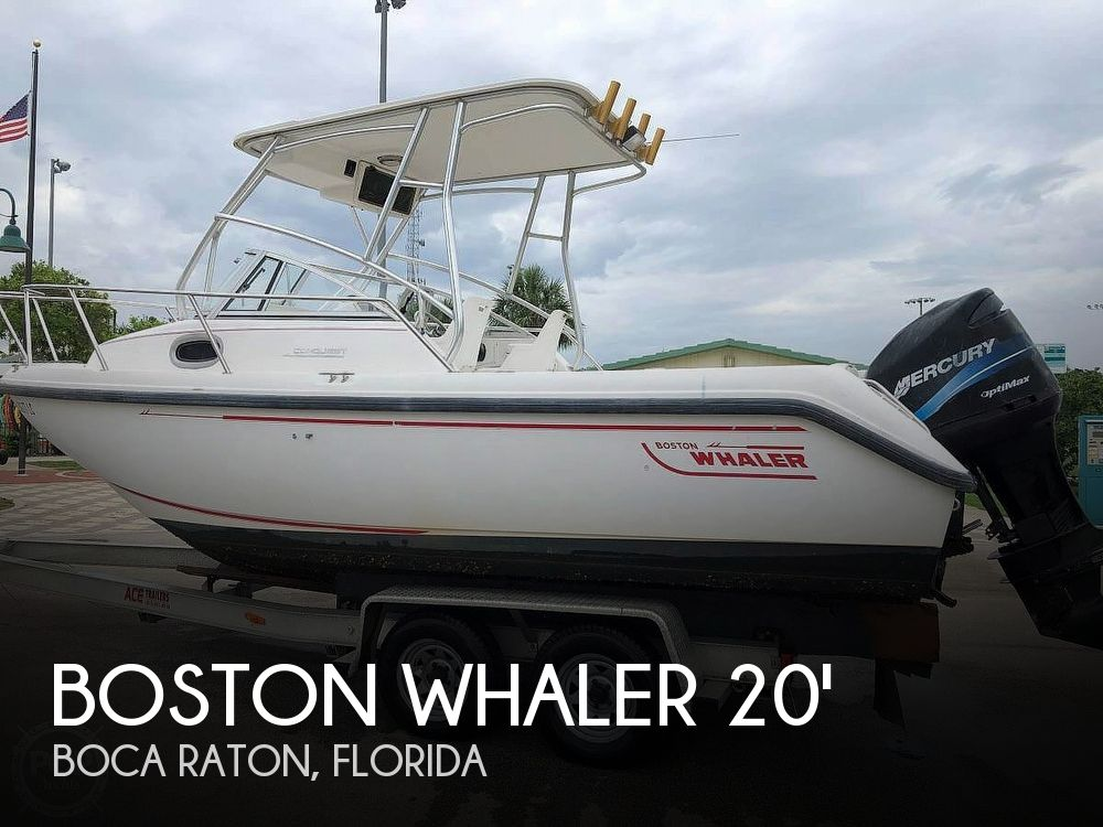 Used Boston Whaler Conquest 21 Boats For Sale by owner   2000 Boston Whaler Conquest 21
