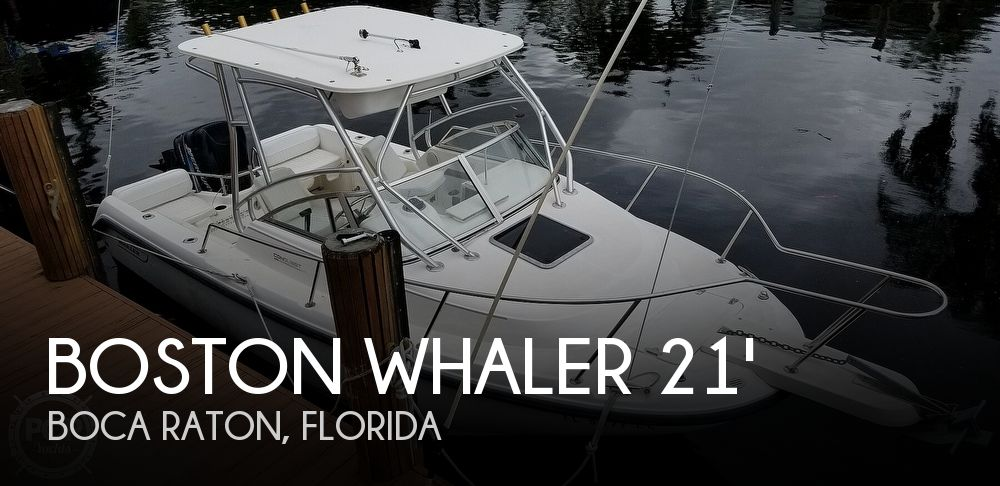 2000 BOSTON WHALER 210 CONQUEST for sale