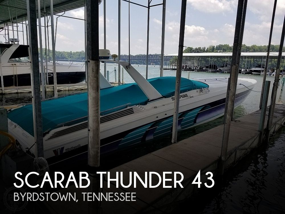 Used Scarab Boats For Sale by owner | 1994 Scarab Thunder 43