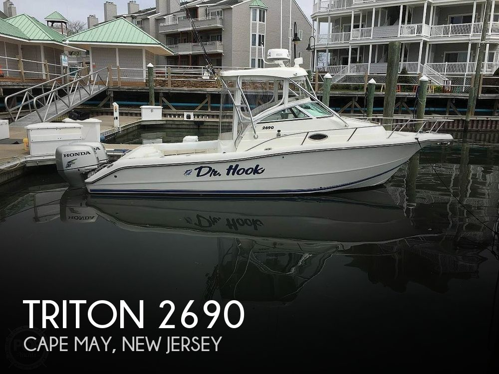 Used Triton  Boats For Sale by owner | 2005 Triton 2690