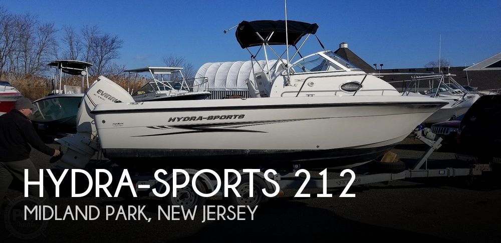 2008 Hydra-Sports boat for sale, model of the boat is 212 WA Lightning & Image # 1 of 40
