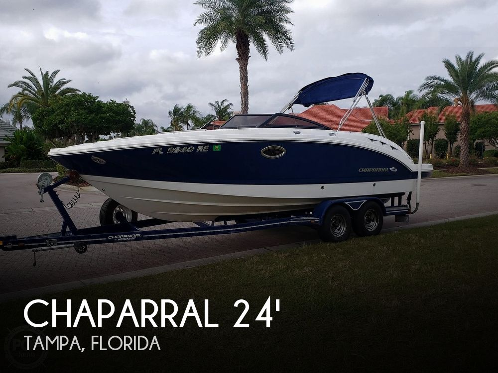 Used Chaparral Sunesta Boats For Sale by owner | 2008 Chaparral 244 SUNESTA