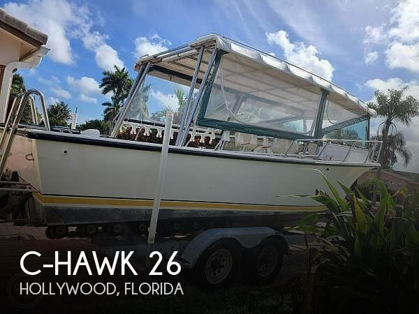 Used C-Hawk Boats For Sale by owner | 1996 C-Hawk 26