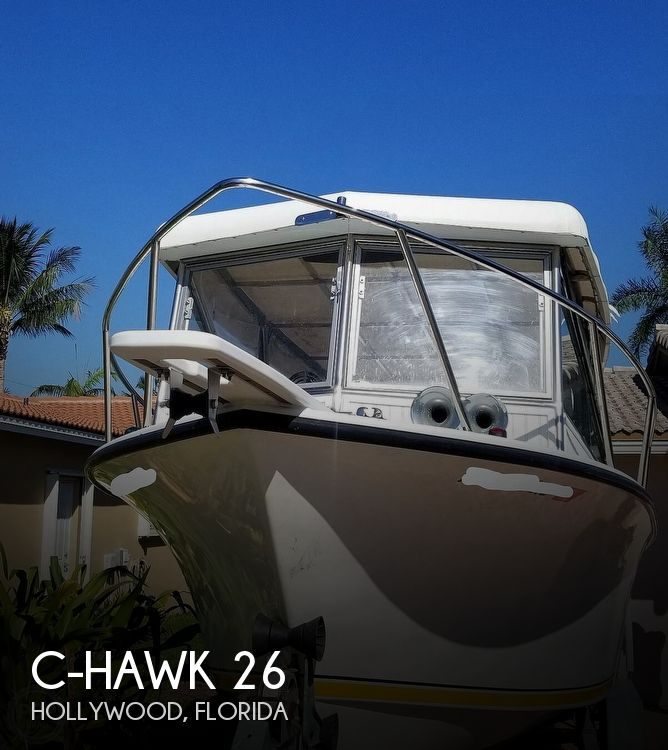 1996 C-Hawk boat for sale, model of the boat is 26 & Image # 1 of 40