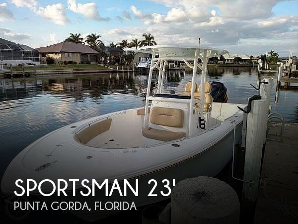 Used Sportsman Boats For Sale by owner | 2018 Sportsman 231 CC