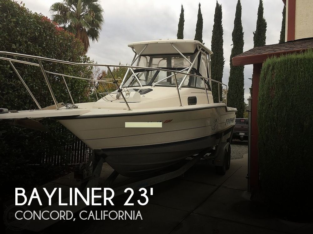 Used Bayliner Boats For Sale in Sacramento, California by owner   1995 23 foot Bayliner Trophy Walkaround