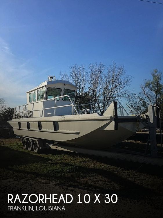 Used Boats For Sale in Lafayette, Louisiana by owner | 2009 Razor Head 10 X 30