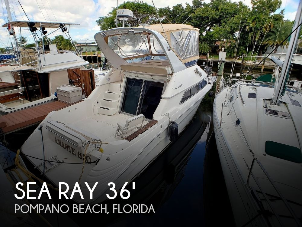 Used Sea Ray 350 Express Bridge Boats For Sale by owner | 1992 Sea Ray 350 Express Bridge